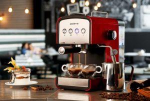 Как работает бойлерная кофеварка