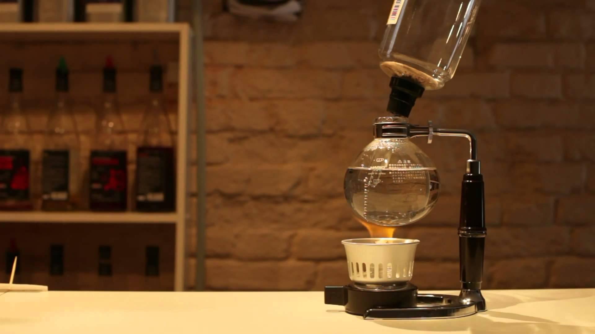 Сифон для кофе – появление и правила заваривания