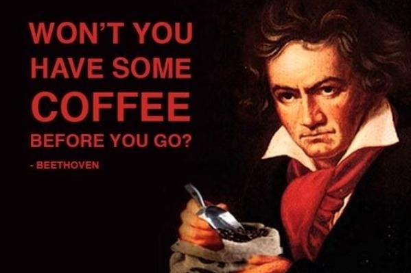 Экскурс в историю – знаменитые любители кофе